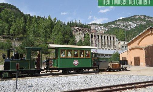 Turisme industrial: el Tren del Ciment y la fábrica de cemento Asland