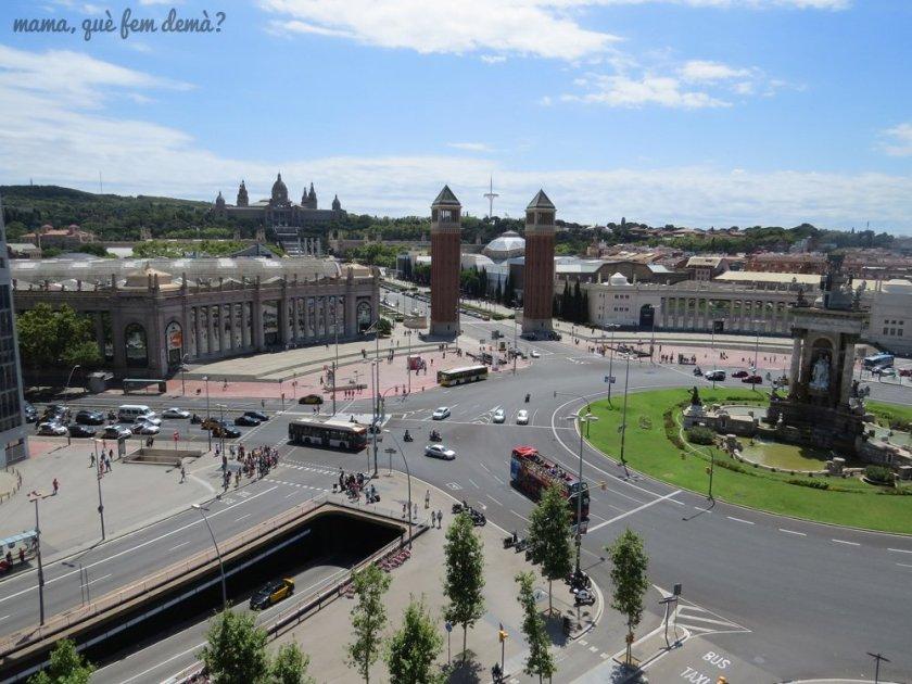 vistas centro comercial arenas barcelona