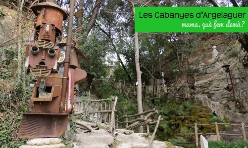 Las cabañas y cuevas de Argelaguer