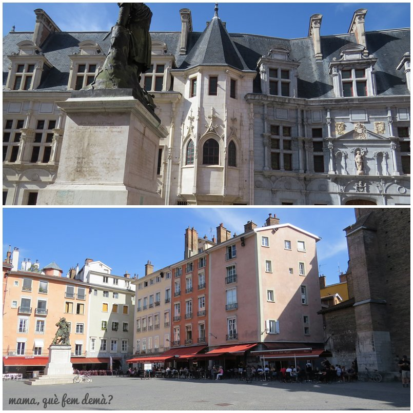 Plaza de Saint André de grenoble