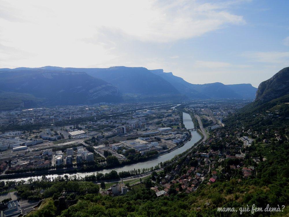 vistas desde la Fortaleza de La Bastilla