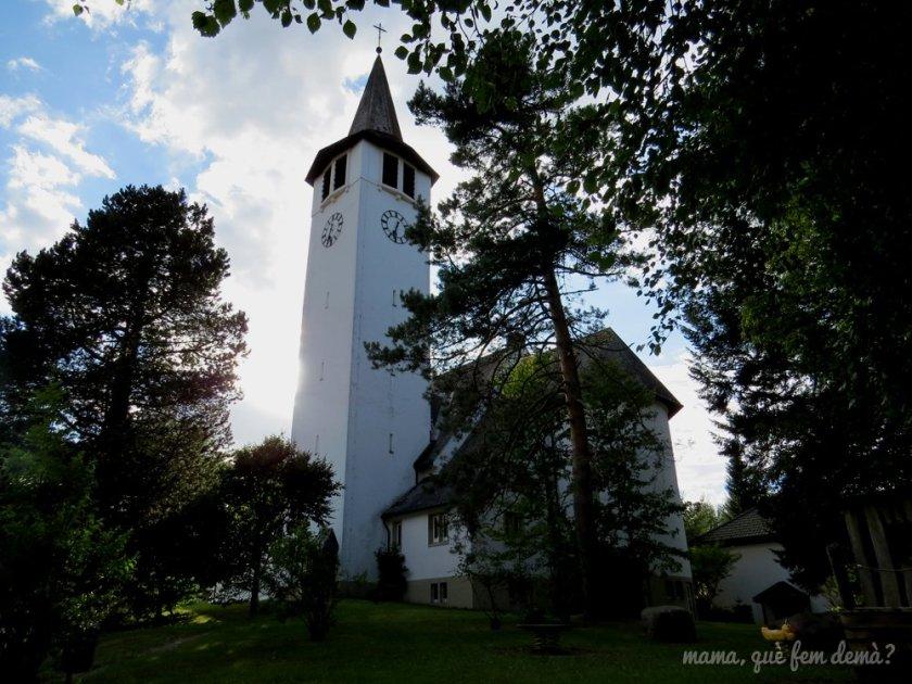 exterior de la iglesia de Titisee