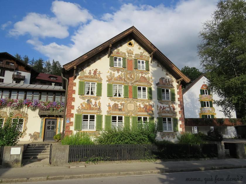 casa de Hansel y Gretel de Oberammergau