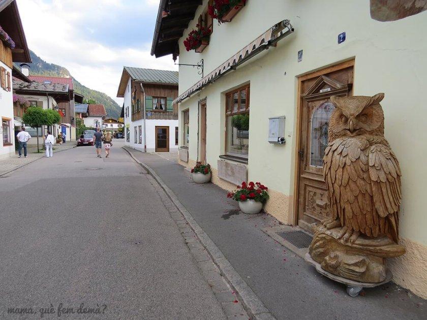 tiendas de tallas de madera de Oberammergau