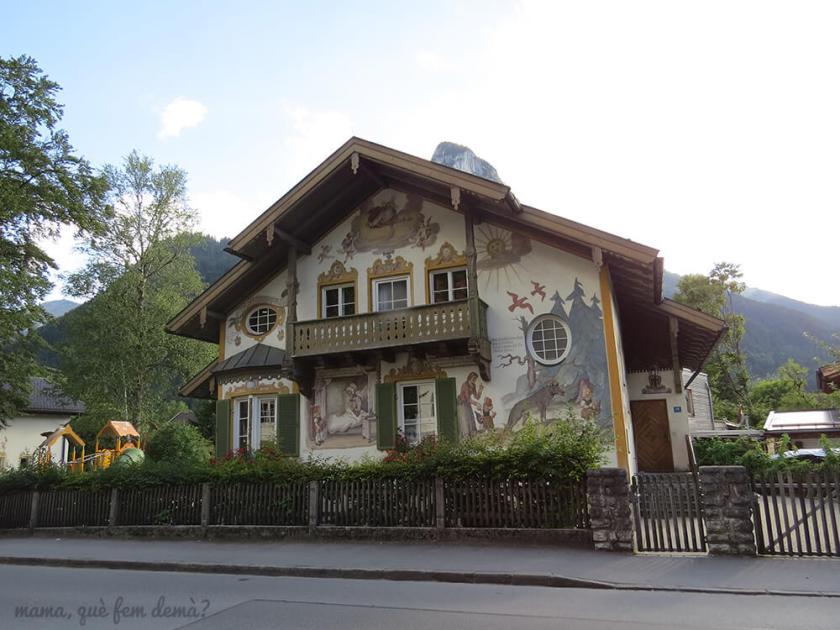 casa de la caperucita roja de Oberammergau