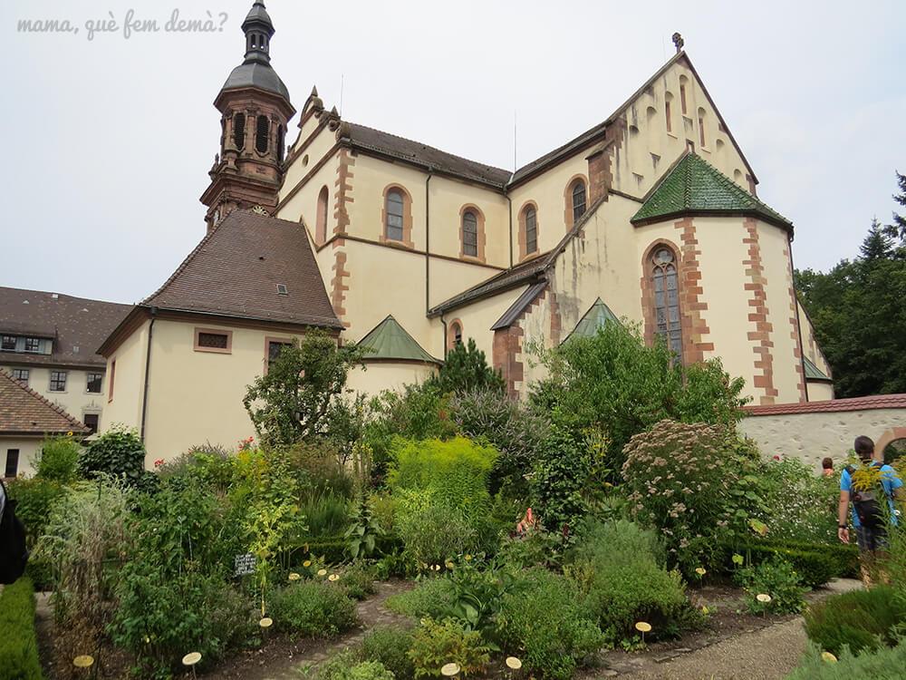 Iglesia barroca de Santa Maria en gengenbach