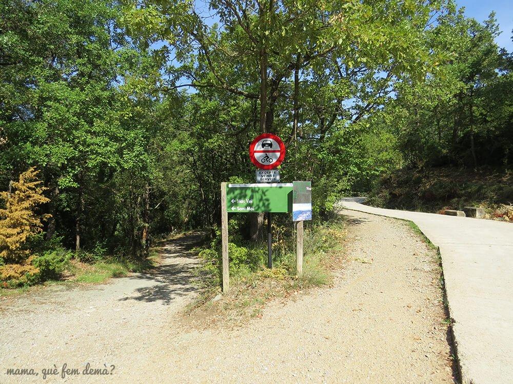 Inicio de la excursión als Bufadors de Beví