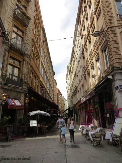 Rue Mercière de Lyon
