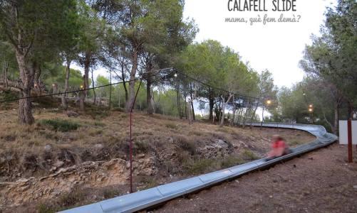 Calafell Slide: el tobogán de trineos gigante