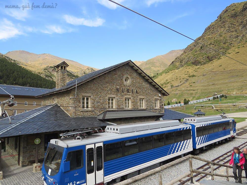 Estación de la Vall de Núria.