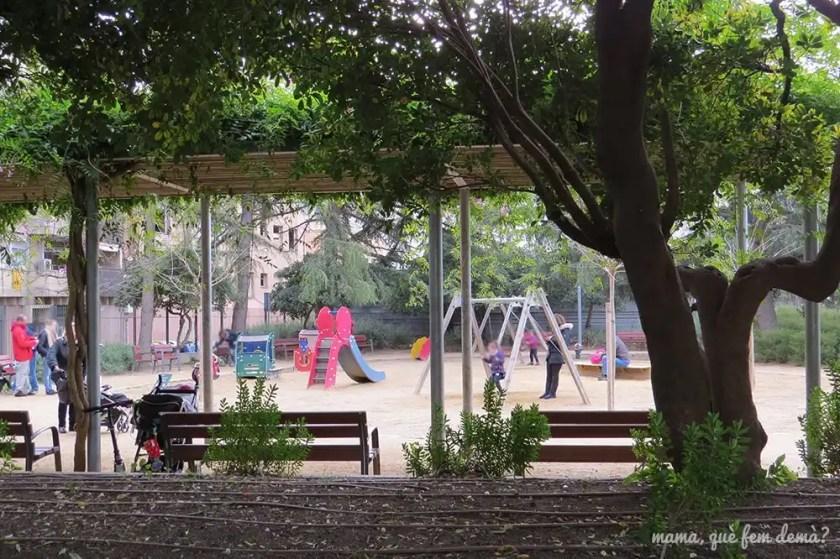 parque infantil en el Parc Sant Jordi de Terrassa