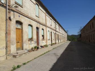 Una calle de la Colònia Vidal.