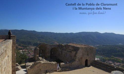 Castell de Claramunt i la Muntanya dels Nens