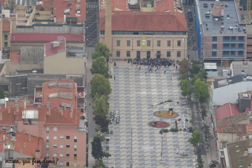 Plaza del Ayuntamiento de Igualada.
