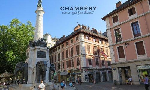 Una tarde en Chambéry, Francia