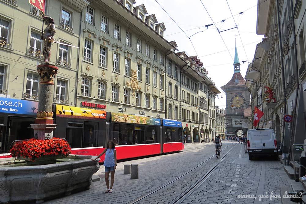 Laueben, calle comercial de Berna
