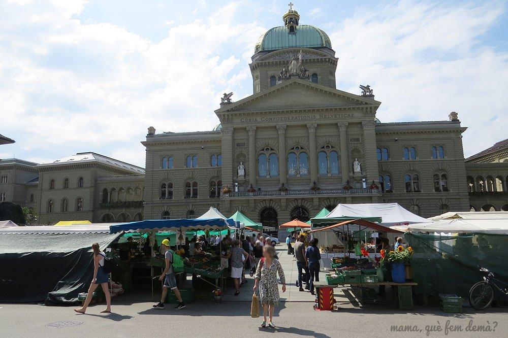 plaza de la Bundesplatz de Berna