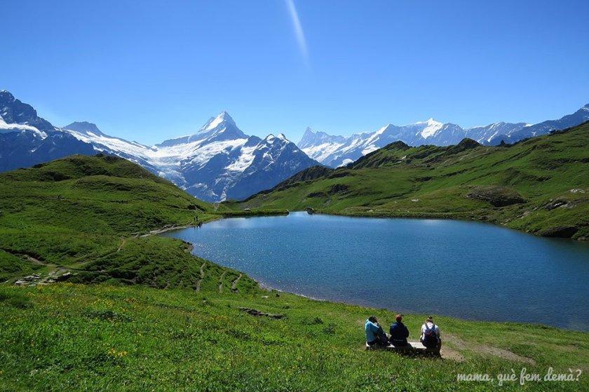 Lago Bachalpsee en Grindelwald-First