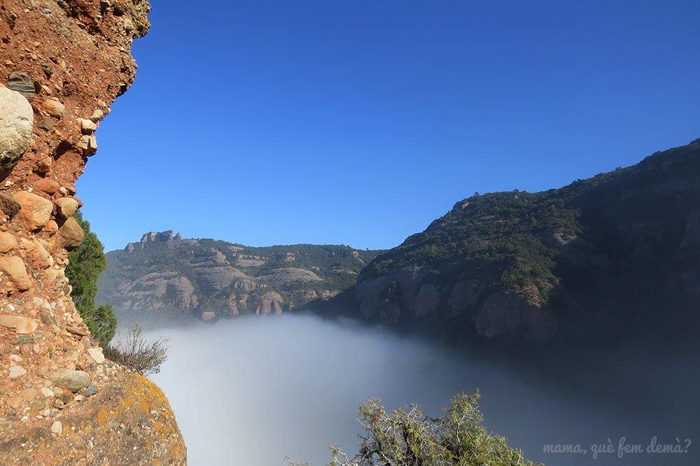 Vistas desde el Turó Roig del Castell Sapera