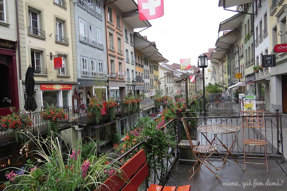 Calle Obere Haupgasse de Thun