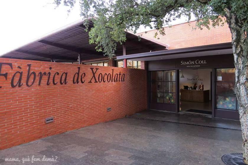 Puerta de entrada del Espai Xocolata Simón Coll