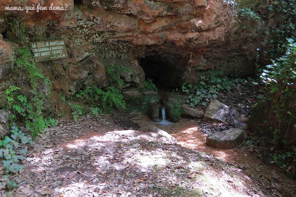 font de jesús excursión cascada de la vall de montblanc