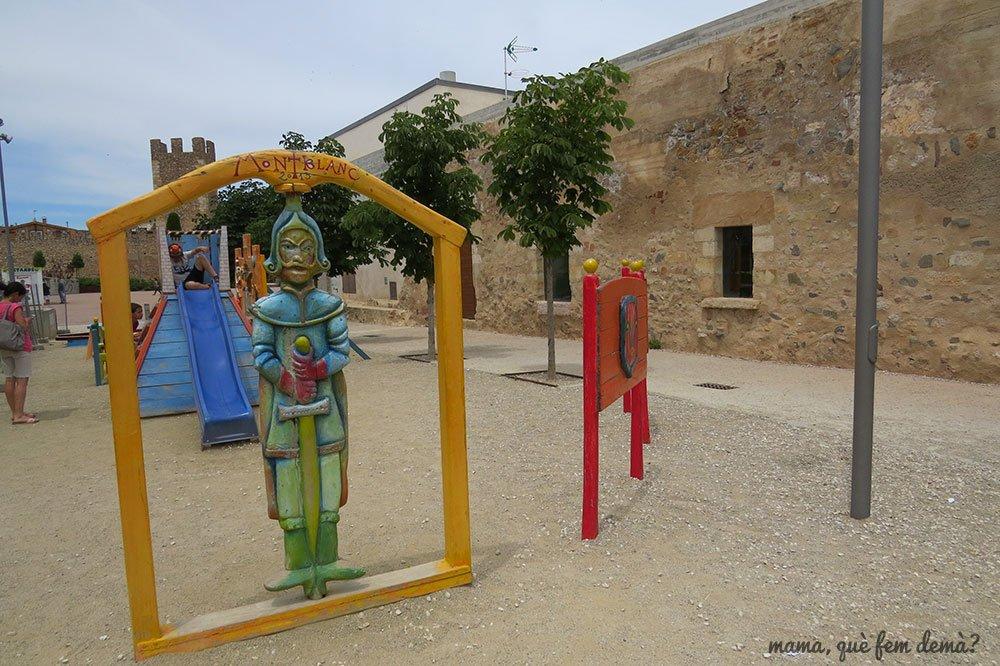 parque infantil en montblanc