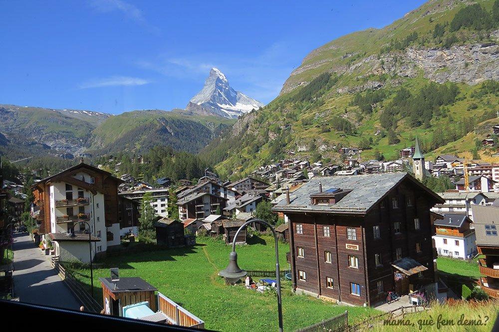 Monte Cervino desde Zermatt