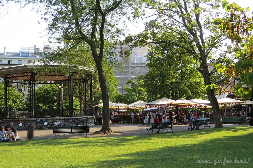Jardin Anglais en Ginebra