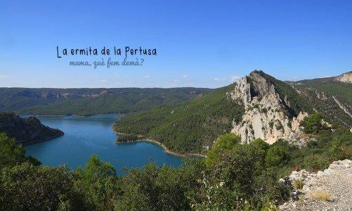 Ermita de la Pertusa, mirador de la sierra del Montsec