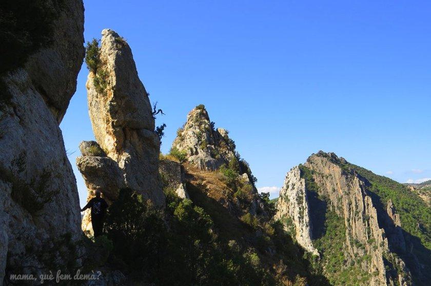 camino hacia la ermita de la pertusa