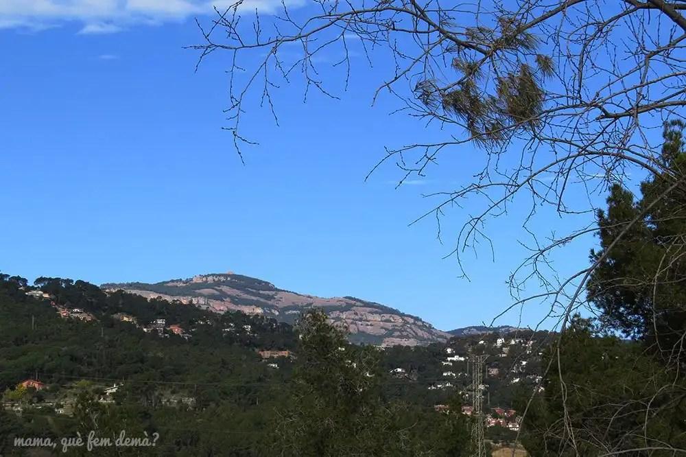 Vistas de La Mola desde Castellar del Vallès