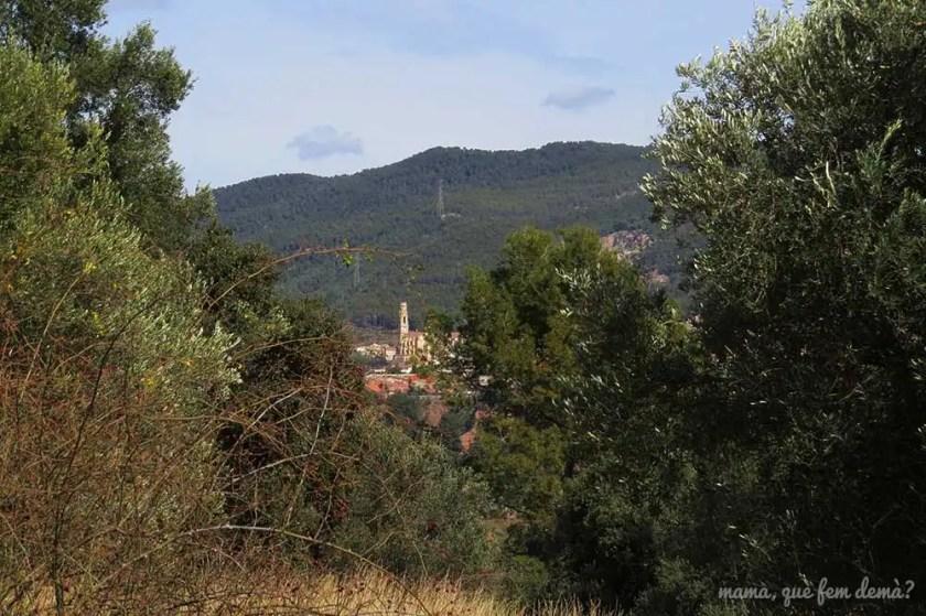 iglesia de Sant Esteve desde Castellar Vell