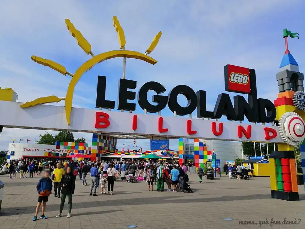 Puerta de entrada de Legoland Billund