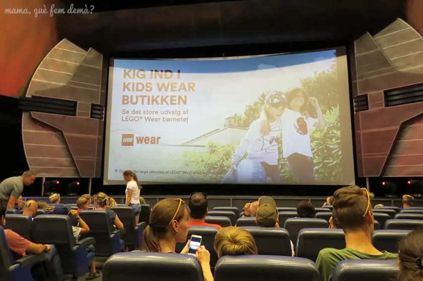 Sala de películas en 4D de Legoland Billund