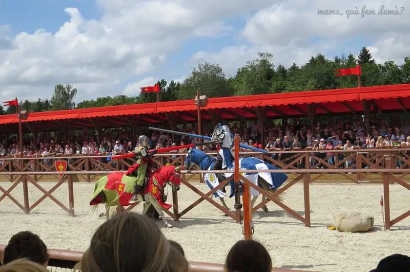 torneo medieval en Legoland Billund