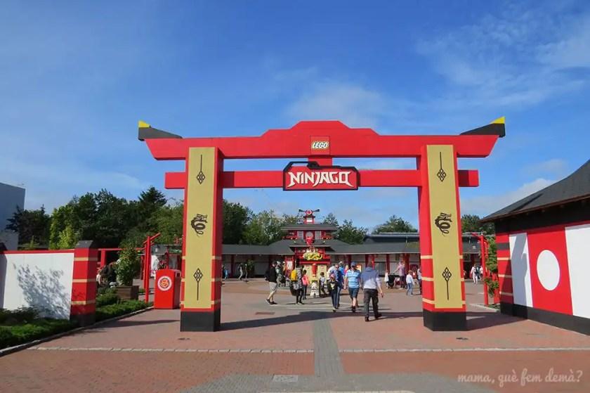 Zona de Ninjago de Legoland Billund
