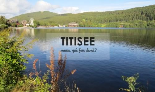 Titisee, el lago natural más grande de la Selva Negra