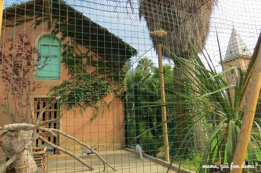 Aviario del parc Samà