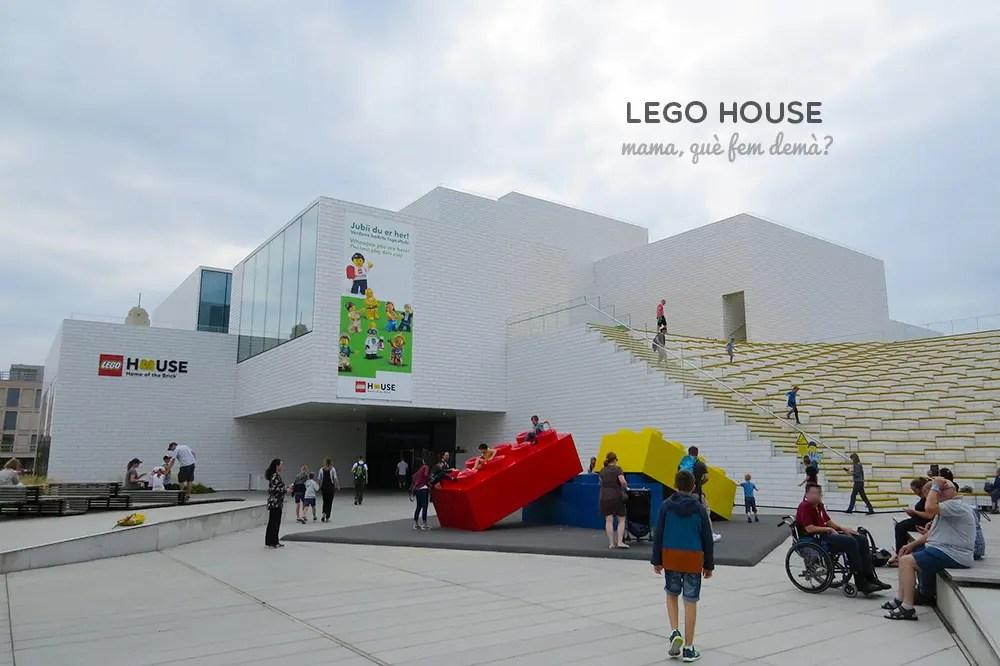 Exterior de la Lego House