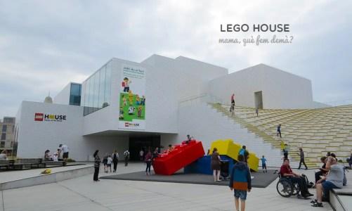 7 horas jugando en Lego House, Dinamarca
