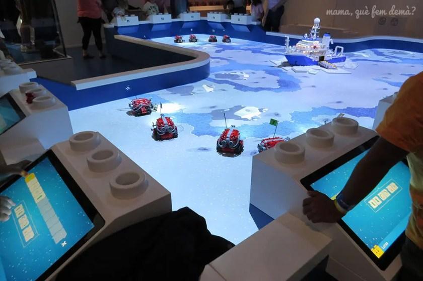 robots en Lego House