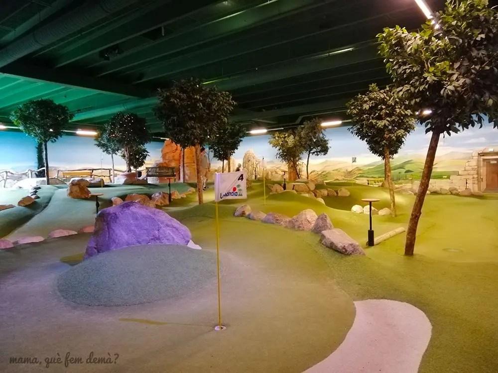 Mini golf de Lalandia Aquadome en Billund