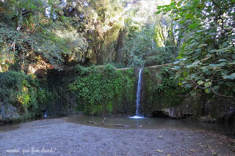 Cascada de la Rierada de Molins de Rei