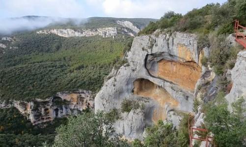 El mirador del cañón del río Vero y las pinturas rupestres del Tozal de Mallata (Huesca)