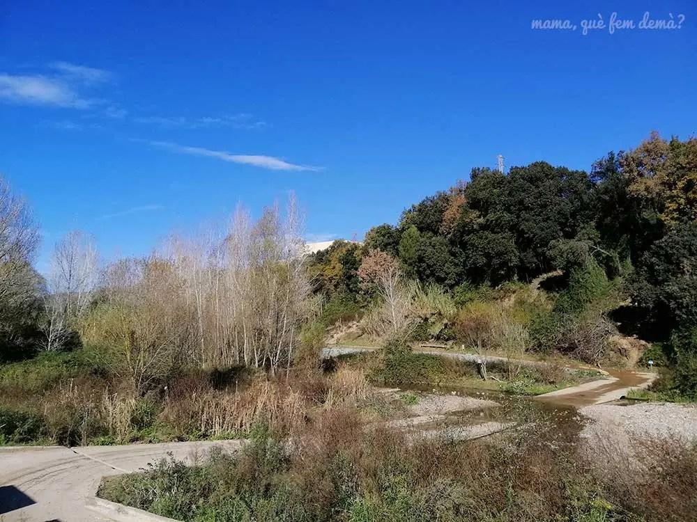Río Ripoll en el barrio de Can Deu