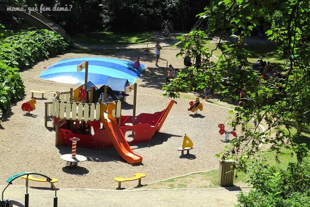 Parque infantil en el Castillo de Egeskov
