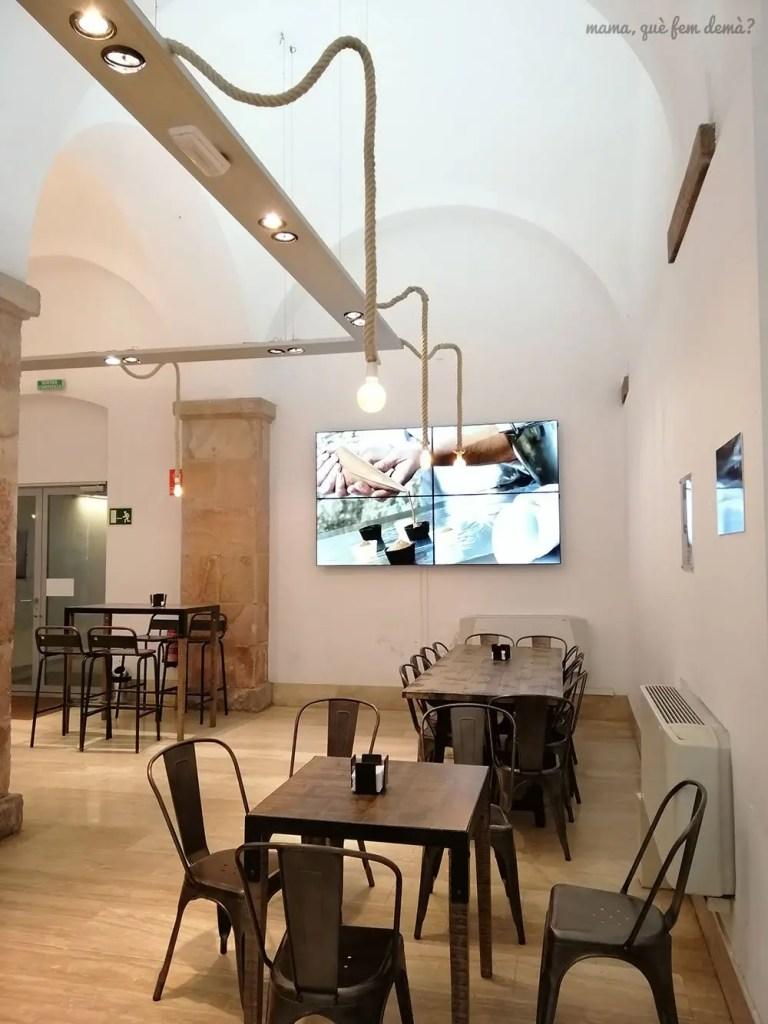 Cafetería del Museu de la Xocolata de Barcelona