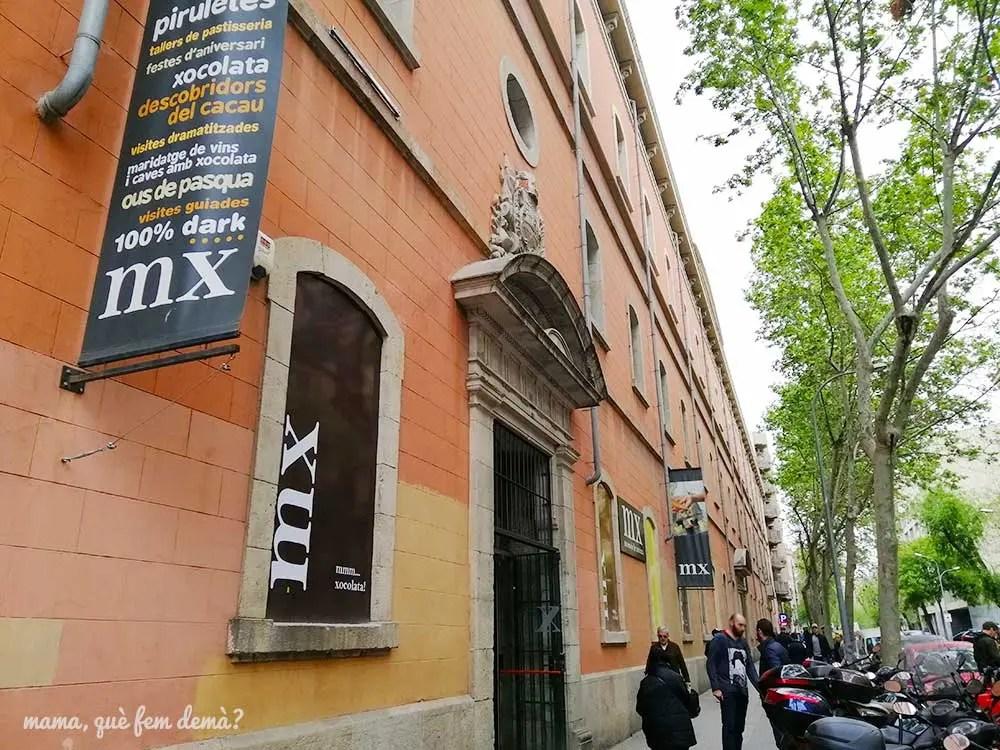 Puerta principal del Museu de la Xocolata de Barcelona