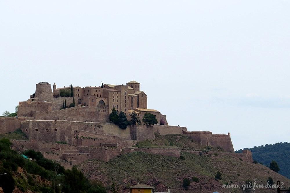 exterior del Castell de Cardona